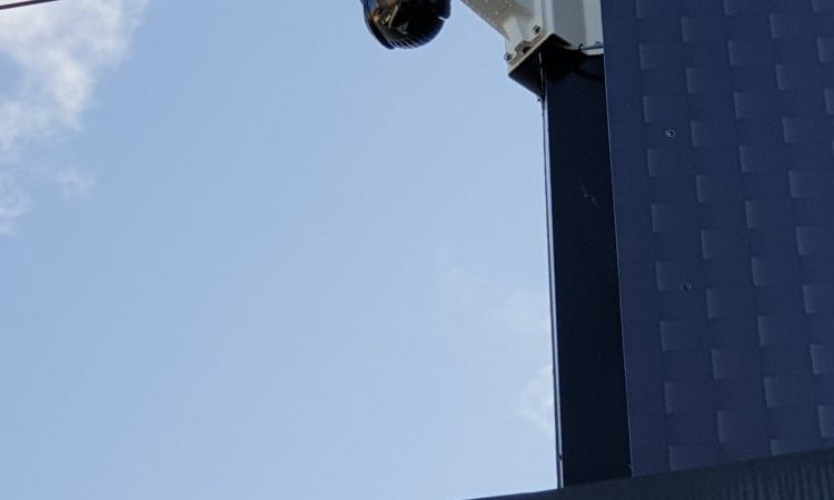 Vidéosurveillance à Redon caméra dôme Hikvision motorisée