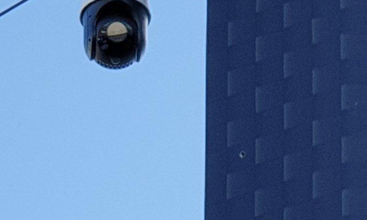 Vidéosurveillance à Redon caméra dôme motorisée