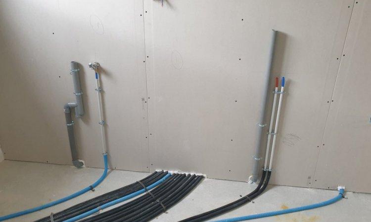 Préparation arrivée lave linge et évier - Pose de tuyauterie par votre plombier à Rieux